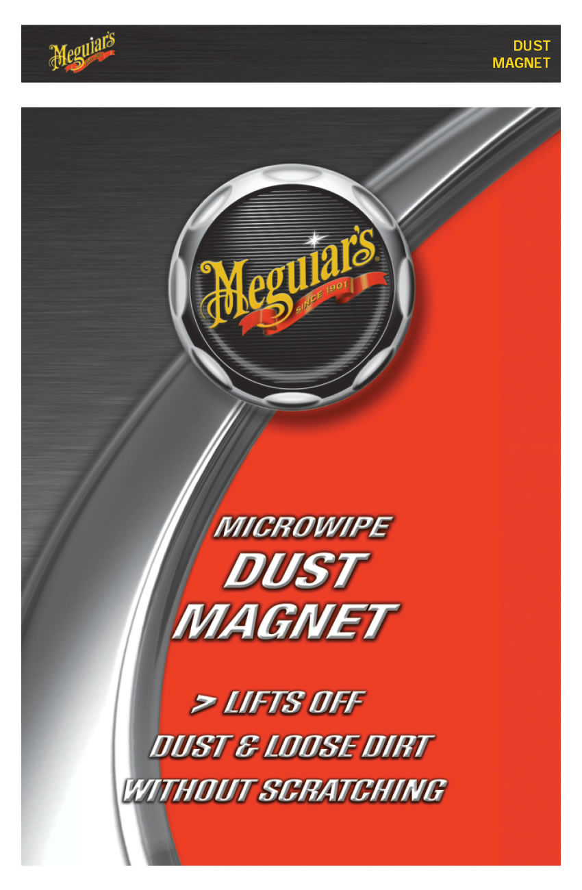 meguiars microwipe dust magnet for car exterior and interior cleaning ag3035 ebay. Black Bedroom Furniture Sets. Home Design Ideas