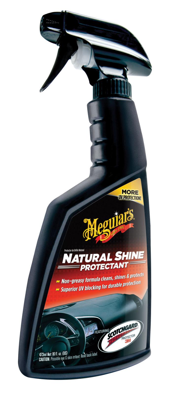 meguiars natural shine protectant polish for car interior g4116 ebay. Black Bedroom Furniture Sets. Home Design Ideas