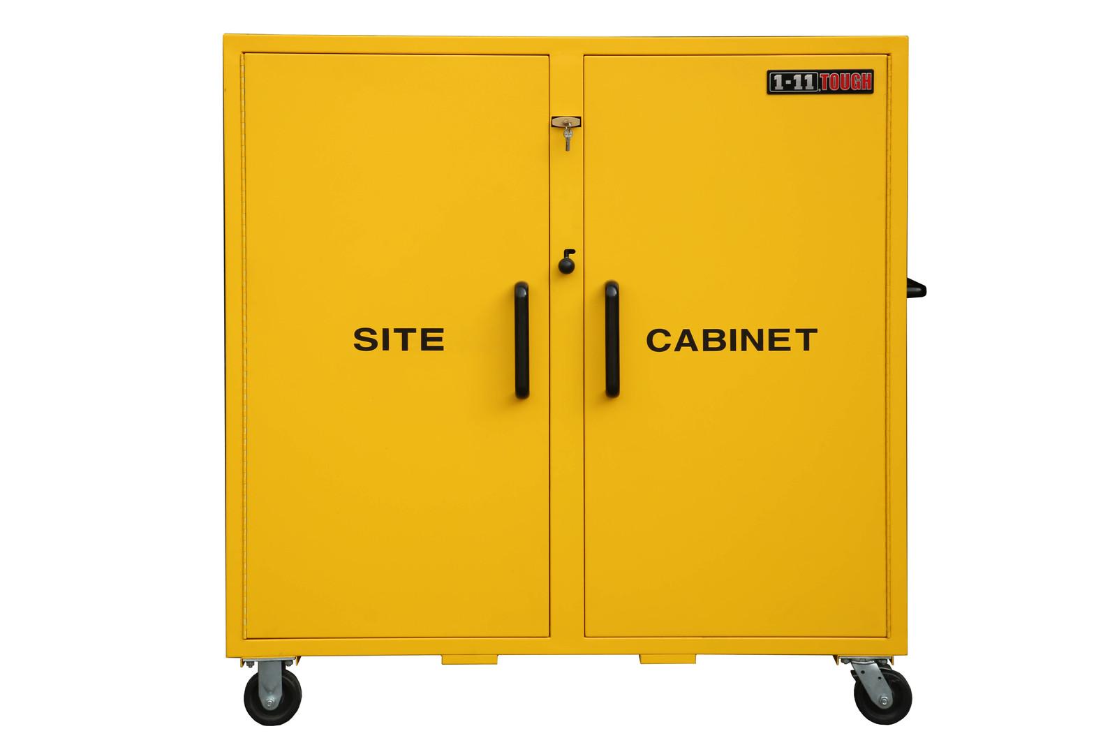 Site Cabinet with castors