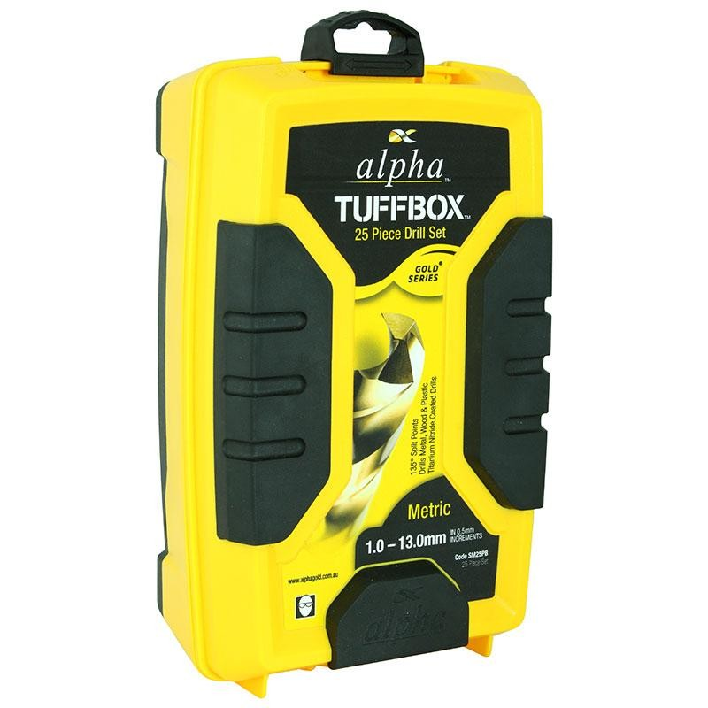 25pce Metric Alpha Tuffbox Drill Set 1.0