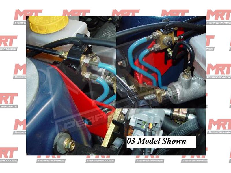 Brake Master Cylinder Support Bracket RHD MY04-O9 Lib GT +