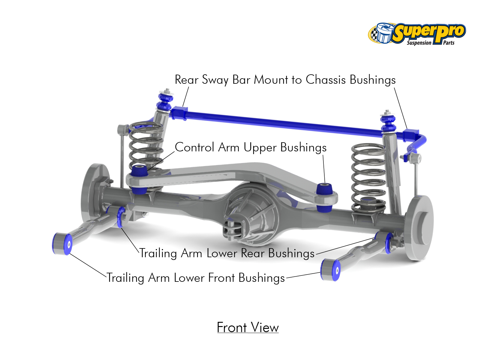 superpro trade rear suspension diagram for jeep grand cherokee wj wg 1999 2005