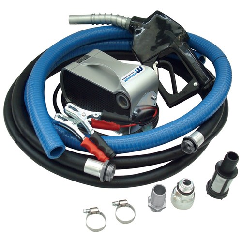 12V Electric Diesel Pump Kit - Automatic Nozzle