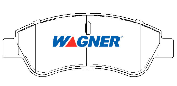 wagner quick stop brake pads db1923wb fits peugeot 207 1 4 1 4 16v 1 6 16v ebay. Black Bedroom Furniture Sets. Home Design Ideas