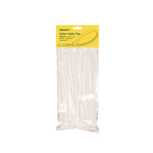 CABLE TIE NATURAL 100X3MM PK100