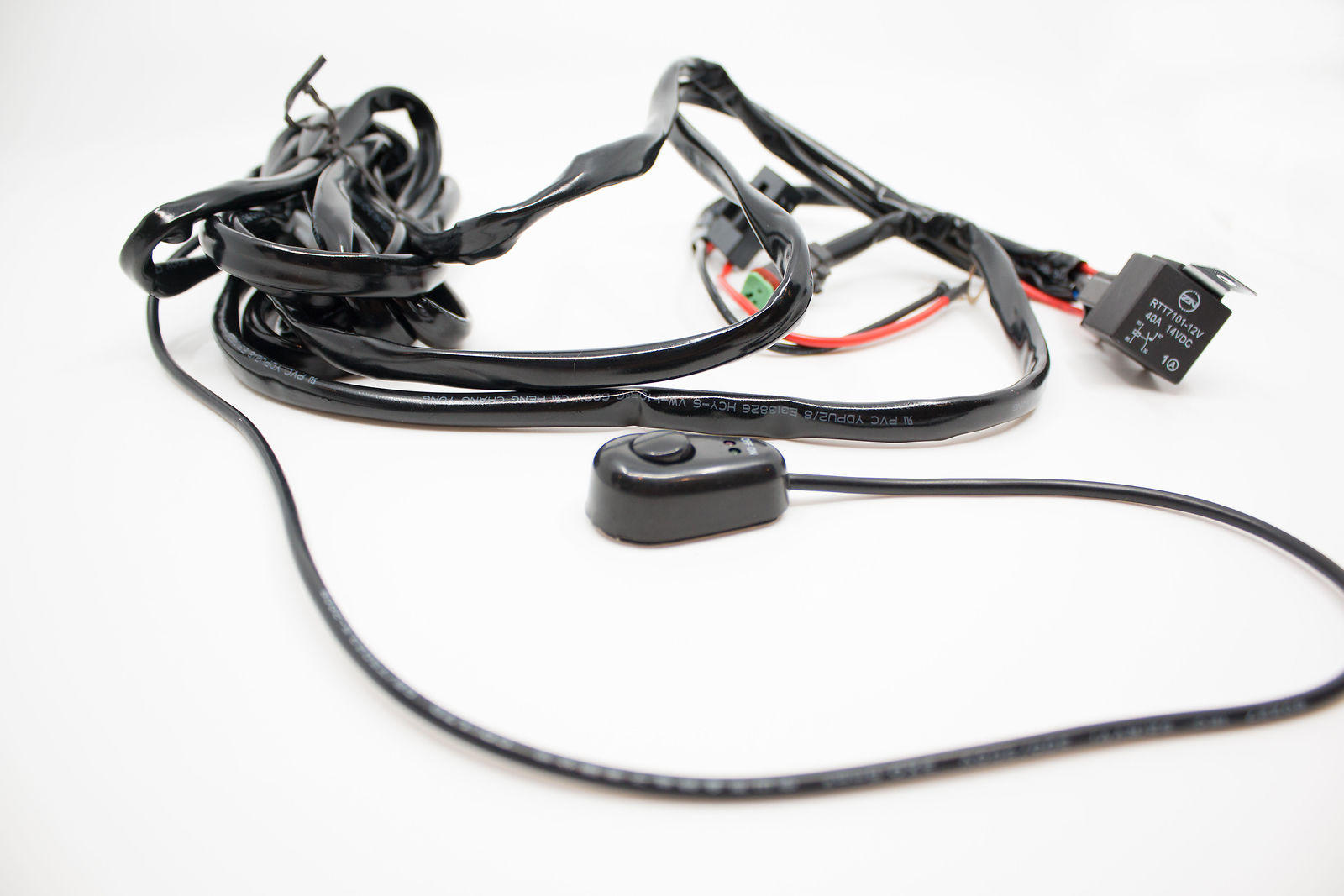 Outdoor 4wd Led Light Bar Wiring Harness Electrical Wire
