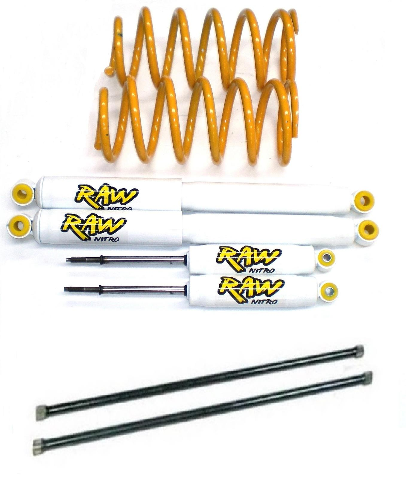 Great Wall X240 2007-2008 4x4 2 Inch 50mm RAW Lift Kit - 250kg