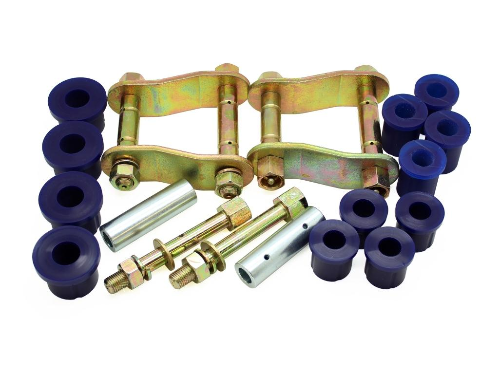 Superpro Greasable Shackle And Bushing Kit For Toyota